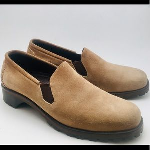 Cole Haan Country Suede Oxford Slid On Size 9B